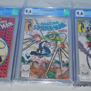 Amazing Spiderman 300, CGC Graded 9.6, Comic Books, 1st Venom SET