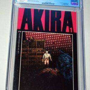 AKIRA 1 CGC 9.6 NM+ Near Mint Marvel Epic 1st US Appearance Kanada & Tetsuo 1988