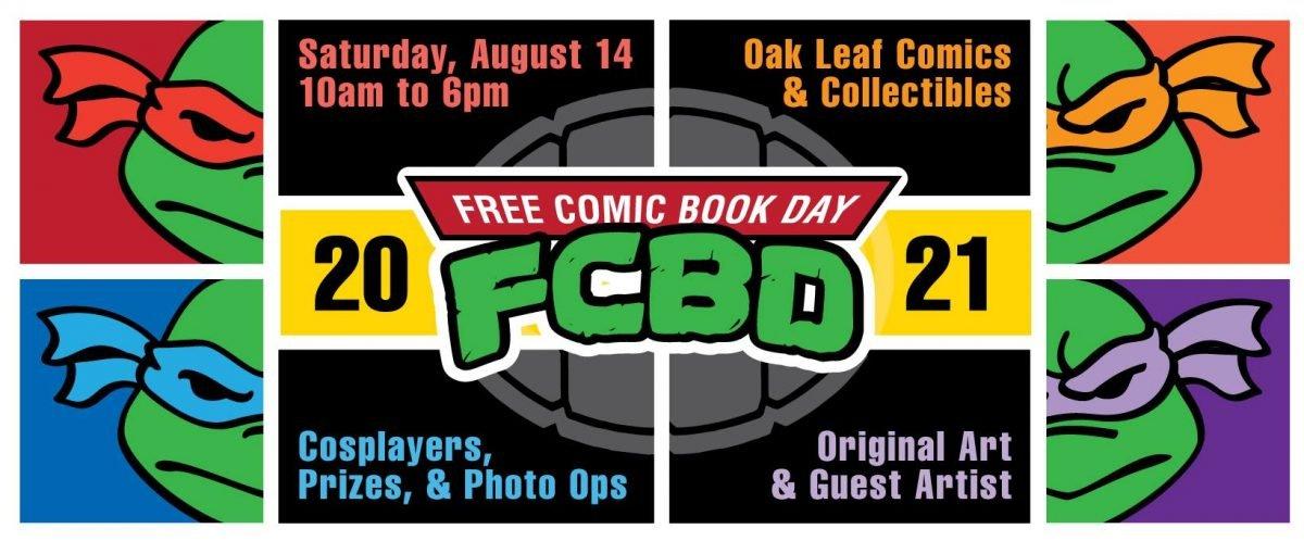 Free Comic Book Day Auf 14 2021