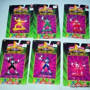 "1993 Bandai Mighty Morphin Power Rangers 3"" Collectible Figures"